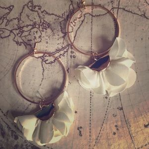 •3 PAIRS You pick Colors• Boutique Flower Earrings